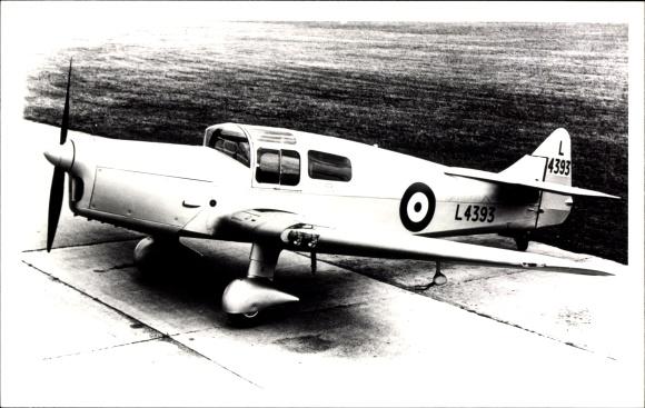 Foto Britisches Militärflugzeug, Miles M16 Meteor, L 4393