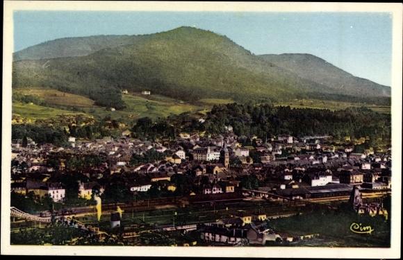 Ak Saint Dié des Vosges Vosges Lothringen, vue générale de la ville