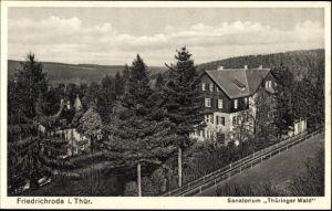 Ak Friedrichroda im Thüringer Wald, Das Sanatorium Thüringer Wald