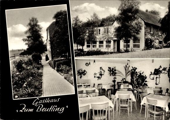 Ak Wellingholzhausen Melle in Niedersachsen, Gasthaus Zum Beutling