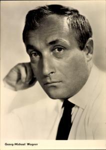 Ak Schauspieler Georg Michael Wagner, Portrait, Krawatte