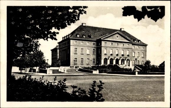 Ak Leuna an der Saale, Werke Walter Ulbricht, Feierabendhaus