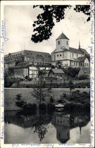 Ak Mönchengladbach in Nordrhein Westfalen, Münster mit Geroweiher