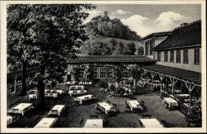 Ak Bad Blankenburg Thüringen, Hotel Goldener Löwe, Erwin Höland, am Markt