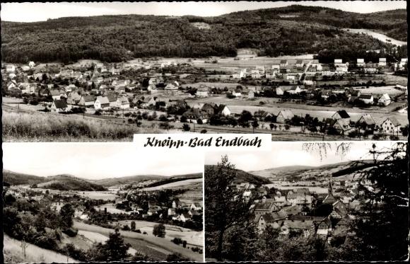 Ak Bad Endbach Mittelhessen, Gesamtansicht des Ortes
