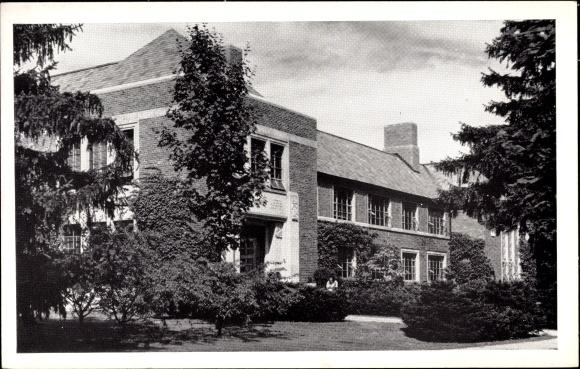 Ak East Lansing Michigan USA, Music Building, Michigan State College