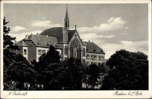 Ak Herxheim in der Südlichen Weinstraße, Das St. Paulusstift