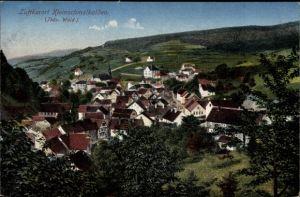 Ak Kleinschmalkalden Floh Seligenthal in Thüringen, Panorama, Luftkurort