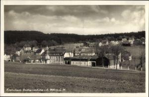 Ak Kretscham Rothensehma Sehmatal Cranzahl im Erzgebirge Sachsen, Gesamtansicht vom Ort