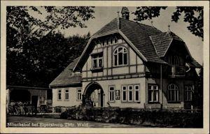 Ak Elgersburg im Ilm Kreis Thüringen, Der Mönchshof von außen