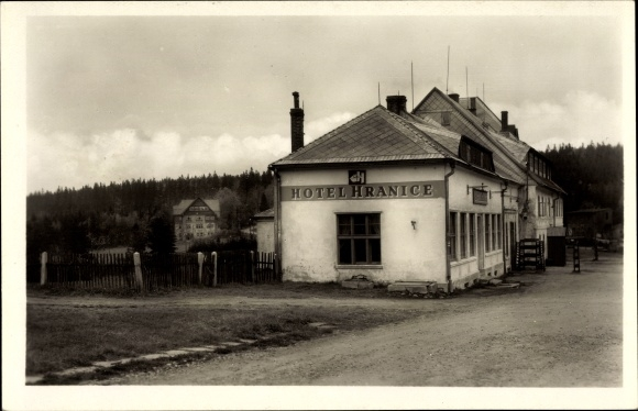 Ak Moldava Moldau Reg. Aussig, Krusne Hory, Hotel Hranice, Vzlet