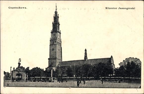 Ak Częstochowa Tschenstochau Schlesien, Klasztor Jasnogorski