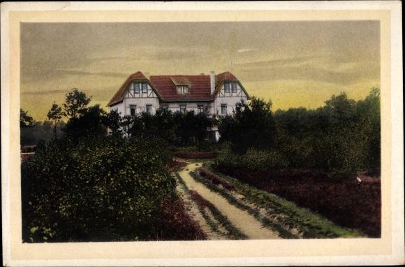 Ak Itzenbüttel Jesteburg, Kurhaus Restaurant Zum Grünen Jäger, Inh. Alfred Keller