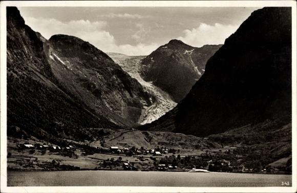 Ak Norwegen, Sundalgletscher im Maurangerfjord