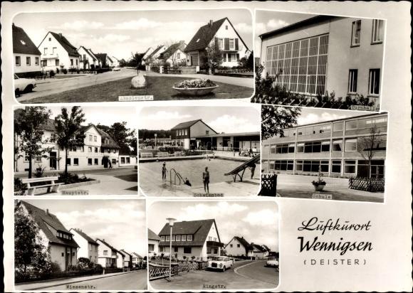 ak rolfshagen schwimmbad westernholz schule nr 7659291 oldthing ansichtskarten. Black Bedroom Furniture Sets. Home Design Ideas