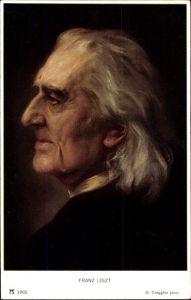 Künstler Ak Torggler, H., Komponist Franz Liszt, Liszt Ferencz, Portrait, Ackermann 1903