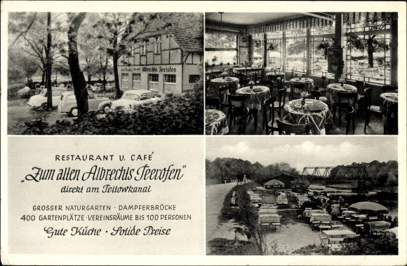 ak berlin zehlendorf wannsee restaurant zum alten. Black Bedroom Furniture Sets. Home Design Ideas