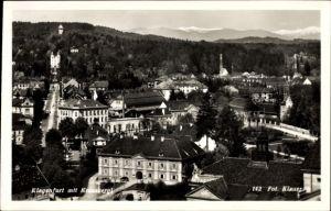 Ak Klagenfurt am Wörthersee in Kärnten, Teilansicht vom Ort mit Kreuzberg