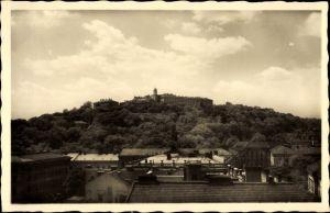 Ak Brno Brünn Südmähren, Spilberk, Blick zum Spielberg