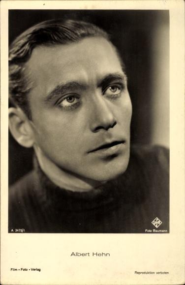 Ak Schauspieler Albert Hehn, A 3475 1, UFA Film, Portrait