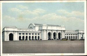 Ak Washington DC USA, New Union Station, Neuer Bahnhof