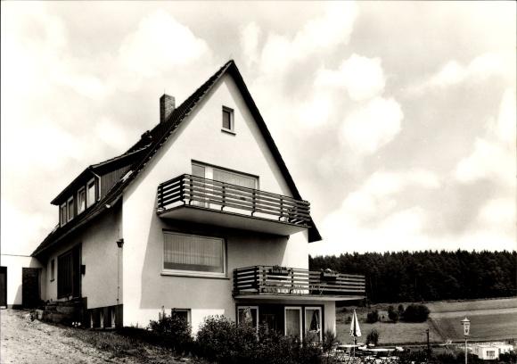 Ak Herfa Heringen an der Werra, Blick auf Wohnhaus