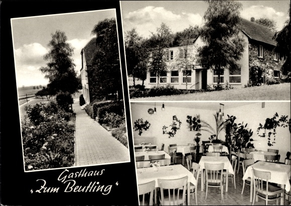 Ak Wellingholzhausen Melle in Niedersachsen, Gasthaus Zum Beutling, Bes Fr Bredenstein