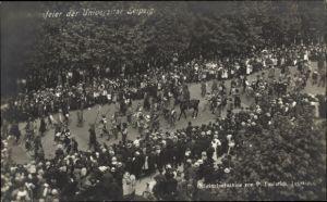 Ak Leipzig in Sachsen, Festzug zum 500 jähr. Jubiläum der Universität, P. Faulstich