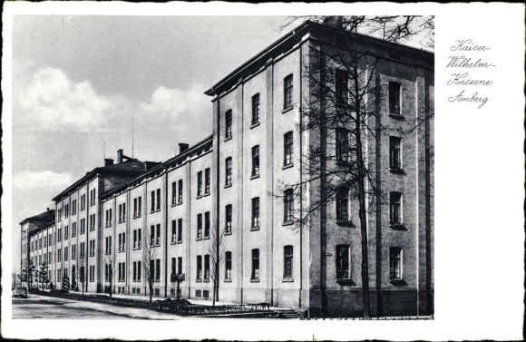 Kaiser Wilhelm Kaserne Amberg