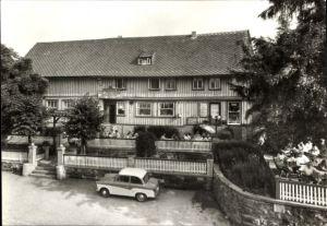 Ak Trautenstein Oberharz am Brocken, Blick zur Konsum Gaststätte Bergeshöh