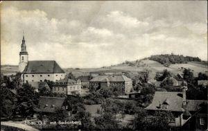 Ak Eibau Kottmar in der Oberlausitz, Ortsansicht mit Beckenberg