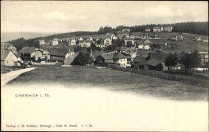 Ak Oberhof im Thüringer Wald, Blick auf den Ort