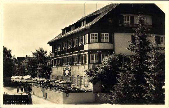 Ak Bayrischzell im Mangfallgebirge Oberbayern, Ansicht von Hotel Alpenrose