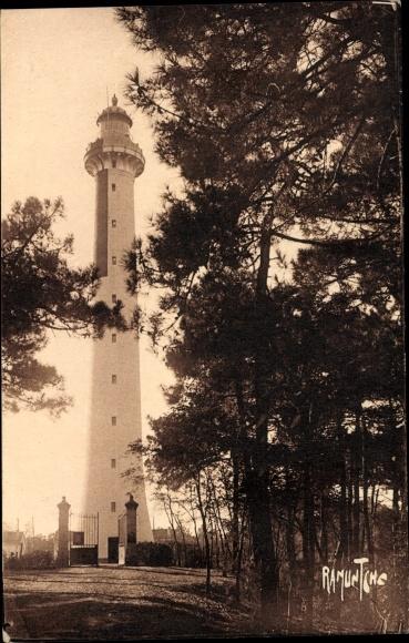 Ak La Tremblade Charente Maritime, Phare de La Coubre, Leuchtturm