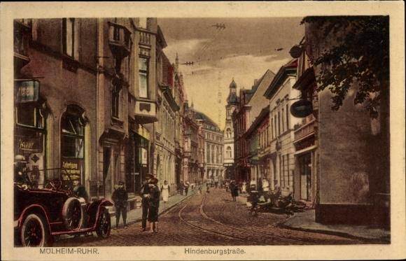 Ak Mülheim An Der Ruhr In Nordrhein Westfalen Blick In Die