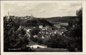 Ak Drosendorf Zissersdorf in Niederösterreich, Gesamtansicht vom Ort