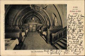 Ak Berlin Mitte, Partie im Kaiserkeller, Der Apostelkeller