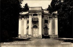 Ak Neuhausen Nymphenburg München in Bayern, Blick auf Schloss Nymphenburg