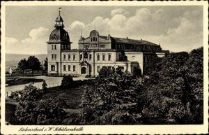 Ak Lüdenscheid im Märkischen Kreis, Blick zur Schützenhalle