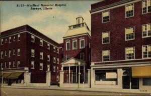 Ak Berwyn Illinois USA, MacNeal Memorial Hospital, Krankenhaus