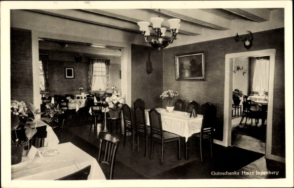 Ak Solingen in Nordrhein Westfalen, Gutsschenke Haus Jagenberg, Inh Willy Ellermann