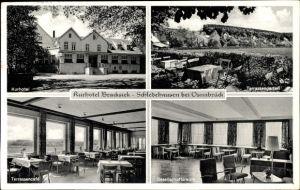 Ak Schledehausen Bissendorf in Niedersachsen, Kurhotel Bracksiek, Terrasse