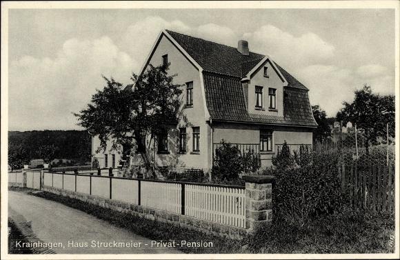 Ak Krainhagen Obernkirchen im Kreis Schaumburg, Pension Haus Struckmeier