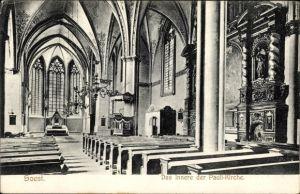 Ak Soest in Nordrhein Westfalen, Das Innere der Pauli Kirche