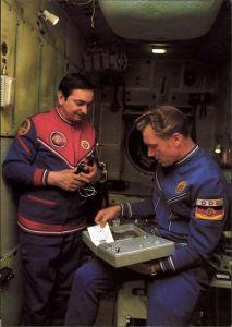 Ak Kosmosflug UdSSR und DDR, Kosmonauten Waleri Bykowski und Sigmund Jähn