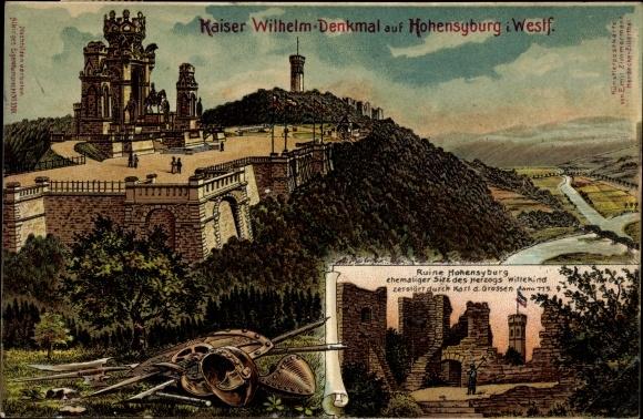 Künstler Dortmund künstler ak hohensyburg syburg dortmund im ruhrgebiet kaiser
