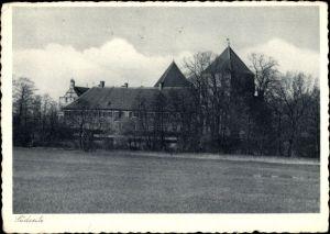 Ak Rheda Wiedenbrück in Nordrhein Westfalen, Blick auf die Kinderheilstätte Schloss Rheda