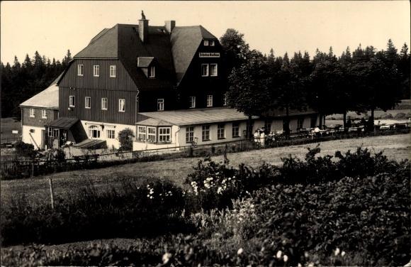 Ak Oberbärenburg Bärenburg Altenberg im Erzgebirge, HO Gaststätte und Gasthof zum Bären