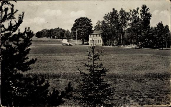 Ak Elterlein im Erzgebirge Sachsen, Blick zum Gasthaus Finkenburg, Georg Schaarschmidt