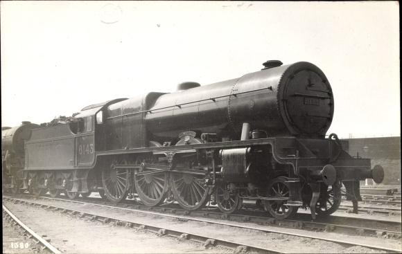 Foto Ak Britische Eisenbahn, Dampflokomotive, Steam locomotive, LMS, 6143, Mail